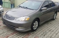 Clean Toyota Corolla 2002 Gray for sale