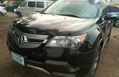 Clean Acura MDX 2009 Black for sale
