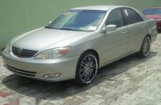 Used Toyota Camry 2002 Silver for sale