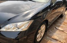 Neatly Foreign Used Lexus ES 2007 Black for sale