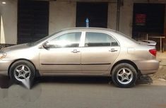 Clean Toyota Corolla 2003 Gold for sale