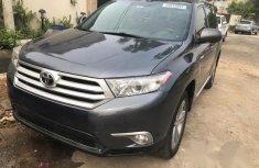Toyota Highlander 2012 Grey for sale