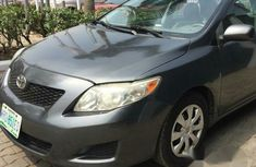 Toyota Corolla 2010 Grey for sale