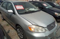Clean Toyota Corolla 2004 Silver for sale
