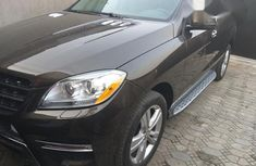 Mercedes-Benz M Class 2013 Brown for sale