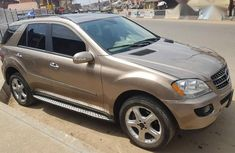 Clean Tokunbo Mercedes-Benz ML 350 2008 Gold For Sale