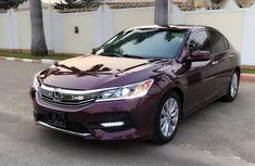 Tokunbo Honda Accord 2016 Red for sale