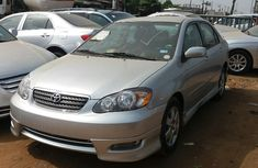Authentic clean Toyota Corolla S 2005 Silver for sale