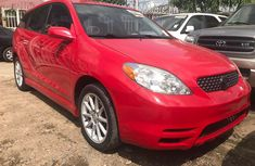 Very clean Red Toyota Matrix 2003 for sale