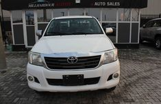 2012 White Toyota Hilux for sale in Lagos