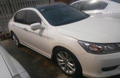2014 White Honda Accord for sale in Lagos