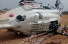 What Caverton boasts about its helicopter before the Vice President's accident