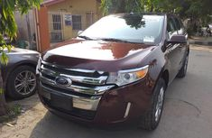 2012 Red Ford Edge for sale