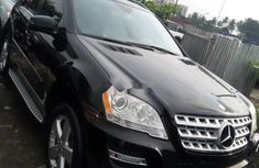 Mercedes-Benz ML350 2011 Black for sale