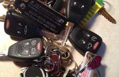 Stop attaching too many things to your car key!