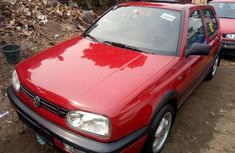 Almost brand new Volkswagen Golf 1998 Red for sale