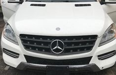 Mercedes-Benz ML 350 2014 White Foreign Used for sale