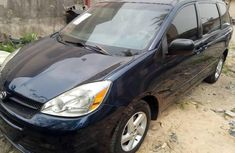 2005 Toyota Sienna Blue for sale