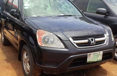 Honda CR-V 2002 Black for sale