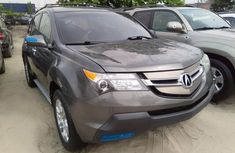 Almost brand new Acura MDX 2008 Silver for sale