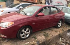 Hyundai Elantra 2007 Red for sale