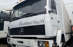 Almost brand new Mercedes-Benz 1117 2000 White for sale