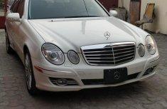 Mercedes-Benz E350 2008 White for sale