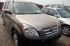 2005 Honda CR-V Gold for sale