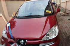 Peugeot 807 2.0 Family 2007 Red for sale