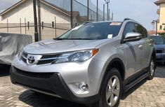 Toyota RAV4 2015 Silver for sale