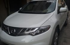 Clean Nissan Murano 2014 White for sale