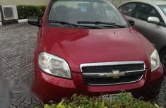 Chevrolet Aveo 2009 Red for sale