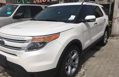 2013 Ford Explorer White for sale