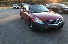 Nissan Altima 2008 Red for sale