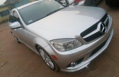 Mercedes-benz C300 2008 Silver for sale