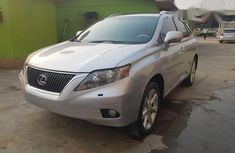 Cleanest Tokunbo Lexus RX350 2011 Silver for sale
