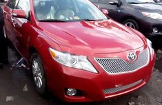 2008 Toyota Camry Red for sale