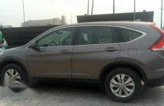 Clean Honda CR-V 2014 Brown for sale