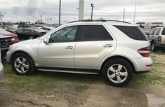 Mercedes-benz ML 350 4matic 2009 Silver for sale