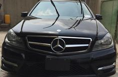 Mercedes-Benz C300 2013 Black for sale