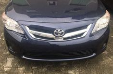 2013 Toyota Corolla Blue for sale in Lagos
