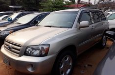 Toyota Highlander 2006 Gold for sale