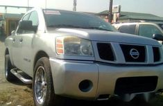 Nissan Titan 2005 Silver for sale