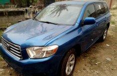 Toyota Highlander 2008 Blue for sale