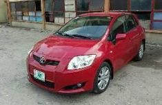 2007 Red Toyota Auris for sale