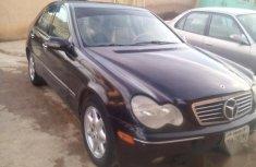 Mercedes Benz C240 2002 Black