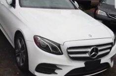 Clean Mercedes Benz E300 2017 White For Sale