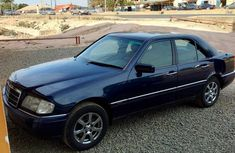 Mercedes-benz C200 1998 Blue for sale