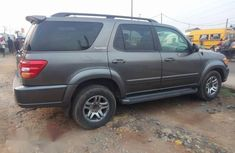 Clean Toyota Sequoia 2004 Gray for sale