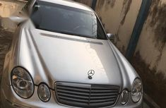 Clean Registered Mercedes-Benz E240 2004 Silver